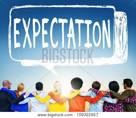 Expectation Hope Ideality Dreaming Planning Thinking  Concept