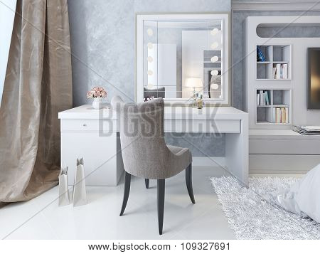 Dressing Table Art Deco Style