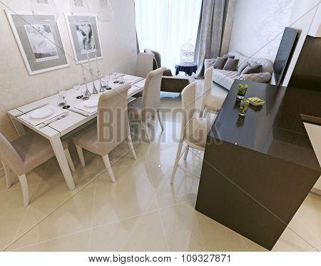 Dining Art Deco Style