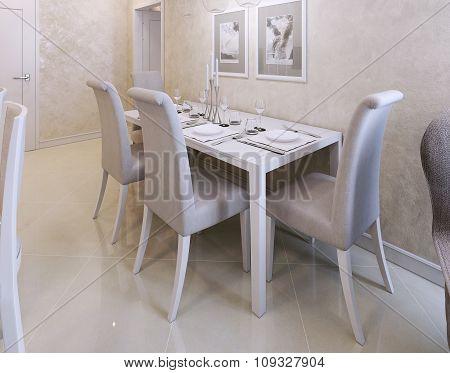 Dining Room Avangard Style