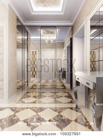 Hallway Empire Style