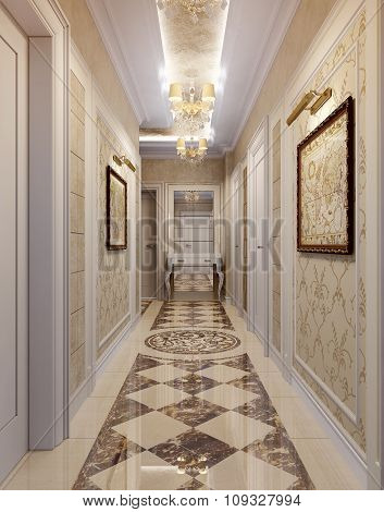 Hall Baroque Style