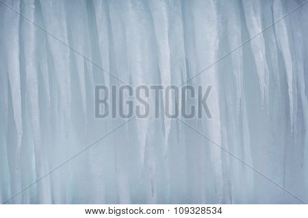 An Icicle Background