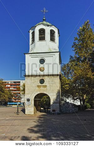 Old Church in the center of City of Pleven