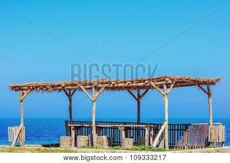 A Wooden Canopy