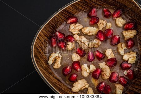 Traditional Turkish Dessert Ashura
