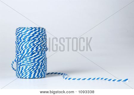 Winded Blue And White Cord