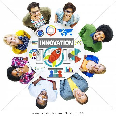 People Togetherness Creativity Growth Success Innovation Concept
