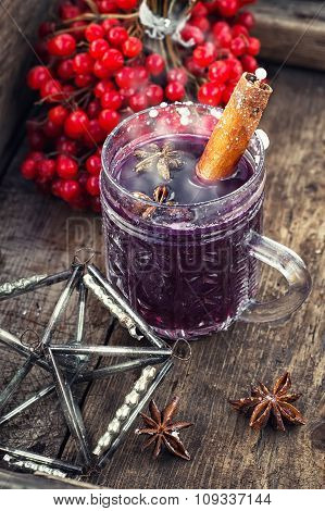 Glass Of Hot Wine