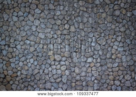 Stone Walls, Modern Look Of The Structure Of Rocks Of Different Sizes.