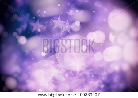 Colored Abstract Blurred Light Background