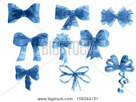 Set Of Triangular  Ribbon