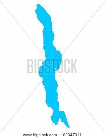 Map Of Lake Malawi