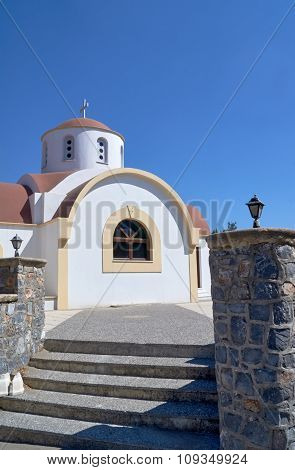 Entrance to the Orthodox Church