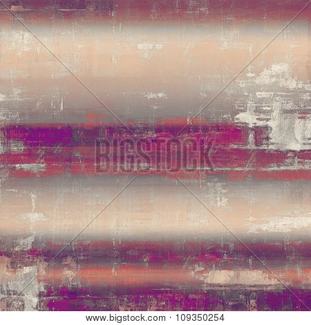 Antique vintage texture or background. With different color patterns: yellow (beige); purple (violet); red (orange); pink