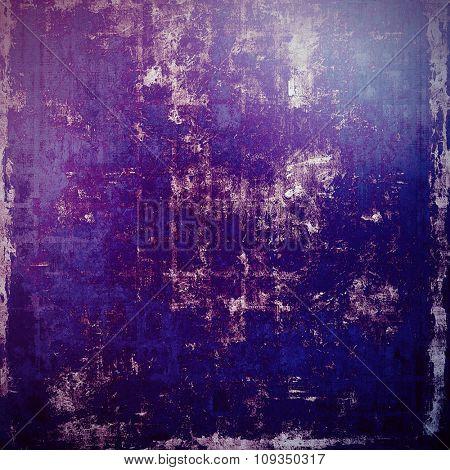 Colorful vintage texture. With different color patterns: black; blue; purple (violet); gray