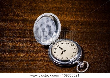 pocket watch. vintage artifact