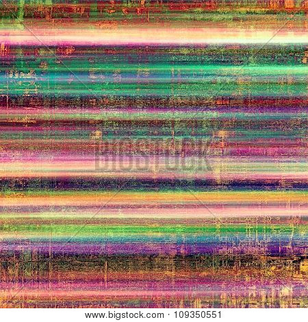 Old Texture or Background. With different color patterns: brown; green; blue; purple (violet); pink