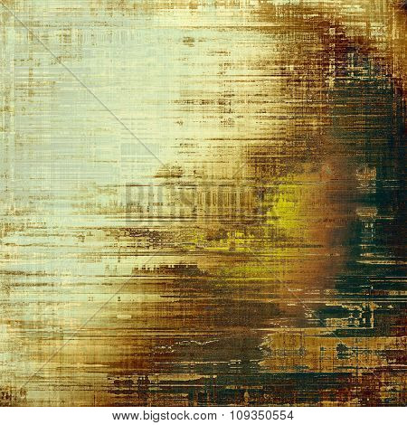Old Texture or Background. With different color patterns: yellow (beige); brown; green; gray