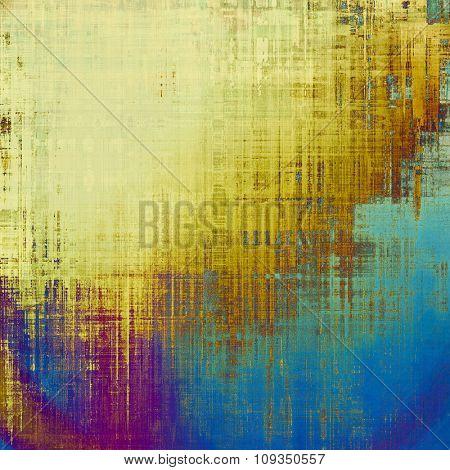 Art grunge vintage textured background. With different color patterns: yellow (beige); brown; blue; purple (violet)