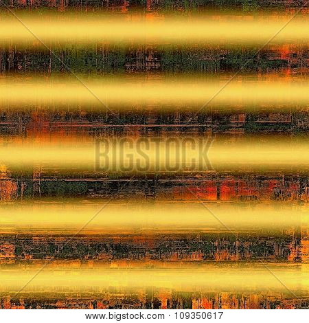 Old, grunge background or ancient texture. With different color patterns: yellow (beige); brown; black; red (orange)