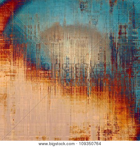 Grunge background or texture for your design. With different color patterns: yellow (beige); brown; blue; red (orange)