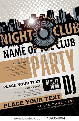 Musical Party In Night Club