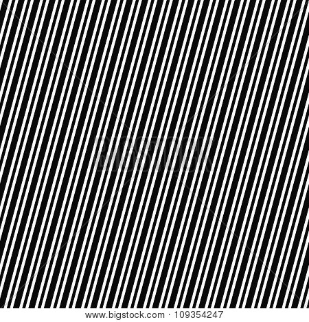 Seamless black and white angular stripe pattern