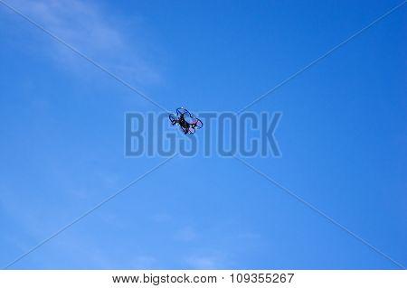 the small quadrocopterrel
