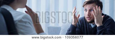 Talking Angry Man