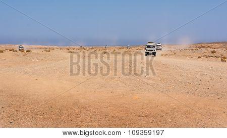 Jeep Tour On Stone Desert