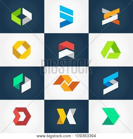 Creative Logo Collection Vector