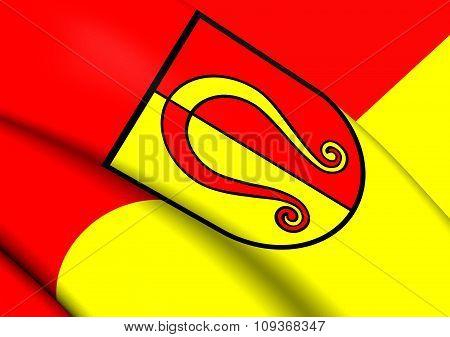 Flag Of Neureut (karlsruhe), Germany.