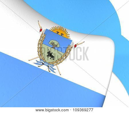 La Pampa Province Flag, Argentina.