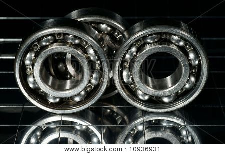 The Steel Bearing, Photo With Reflexion