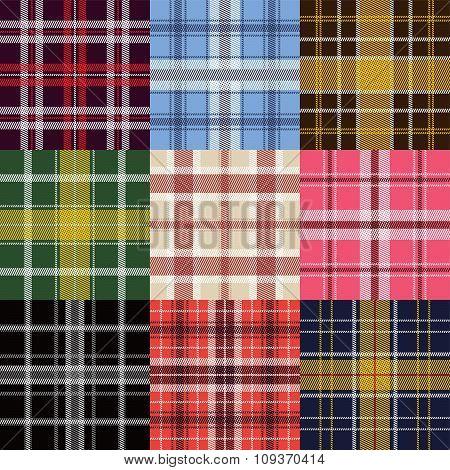 Garment Plaid Pattern