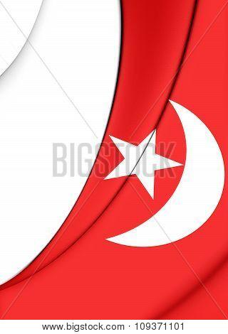 Flag Of Umm Al-quwain, Uae.
