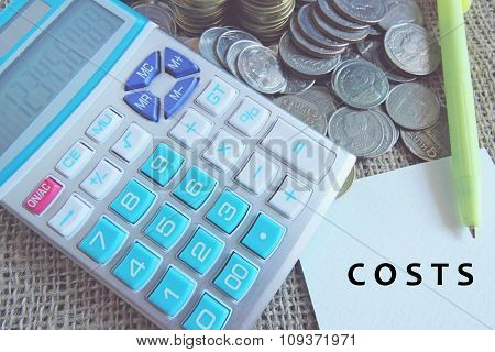 Business concept. Financial Accounting