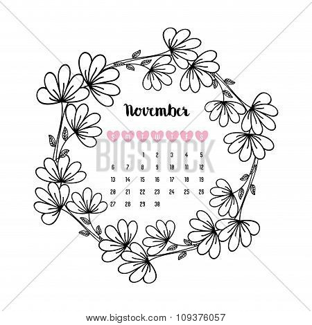 Happy new year floral graphic