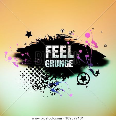Abstract retro vintage grunge background