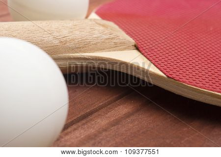 Red Surface Table Tennis Rackets