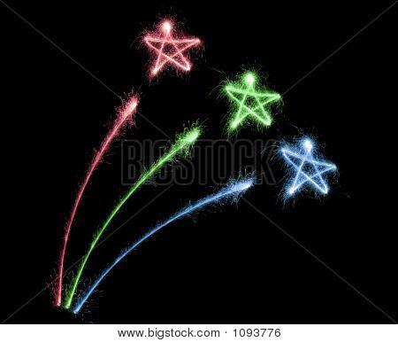 Color Firework Sparkler