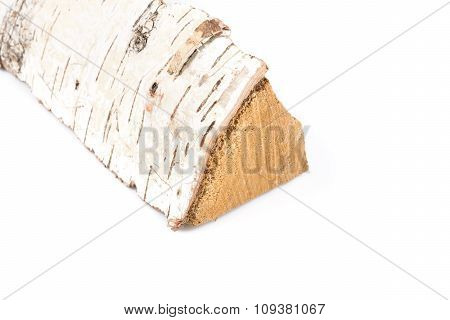Birch Firewood Log
