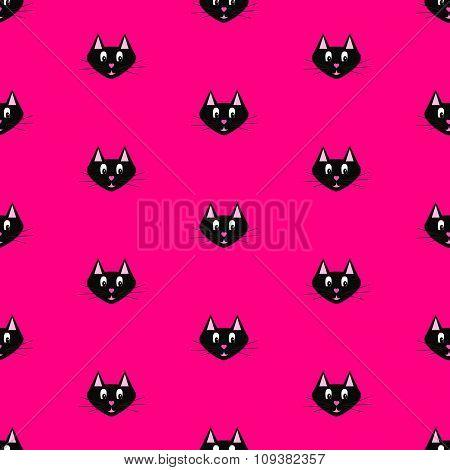 Black cat pattern