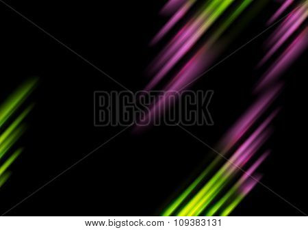 Abstract bright tech stripes background. Vector design
