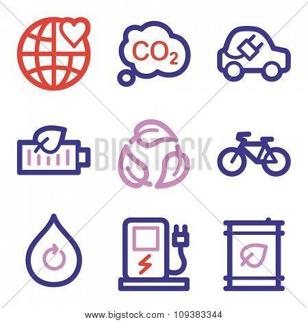 Ecology web icons