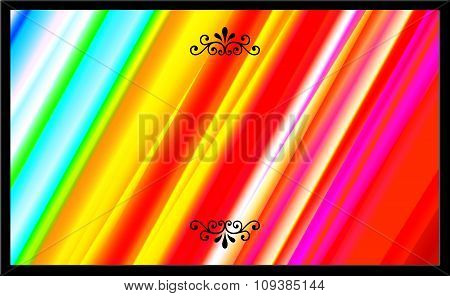Abstract Colorful Composed Background with Stripes Effect