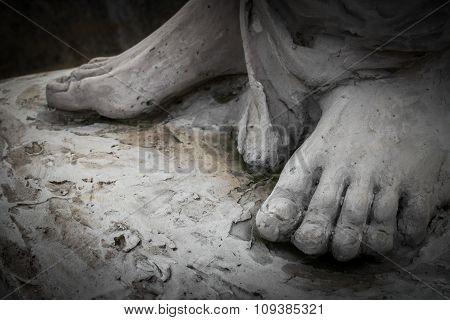 The Feet Of Christ