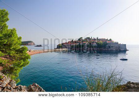 The Island Of St. Stefan (sveti Stefan), Montenegro