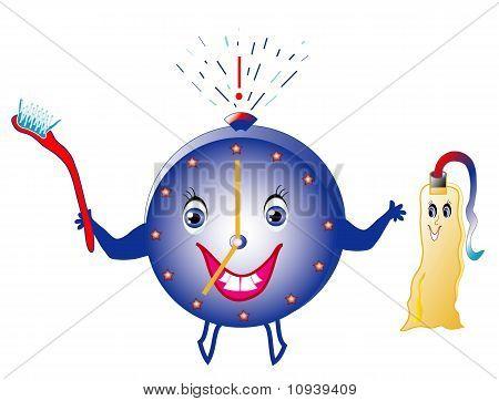Hygienic alarm for children